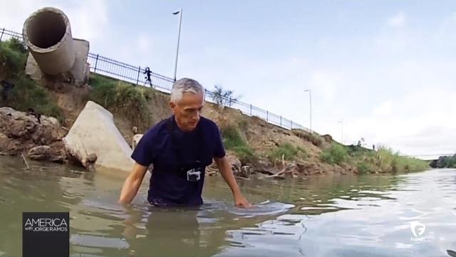 Jorge Ramos: ¿qué haces 'mojado' en el Río Grande?