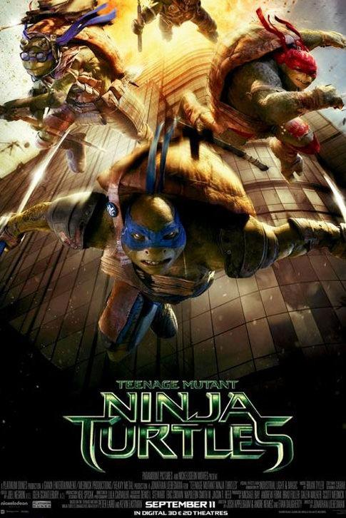 Megan Fox y Will Arnett acompañarán a las Tortugas Ninja en esta aventura.