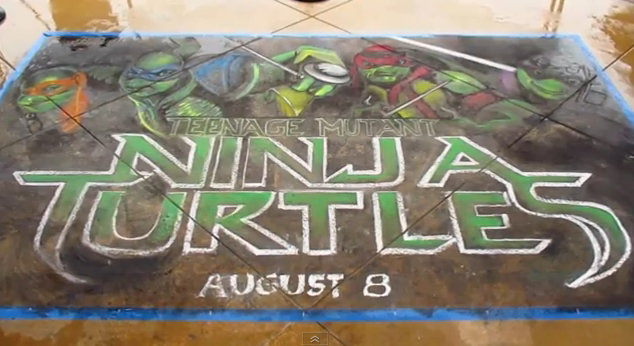 ¡Ya queda menos para el estreno de 'Teenage Mutant Ninja Turtles'!