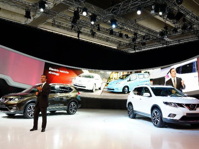 Nissan ha alcanzado un récord histórico de la cuota de mercado de América del Norte, con un 9,3 por ciento en los primeros siete meses de 2014.