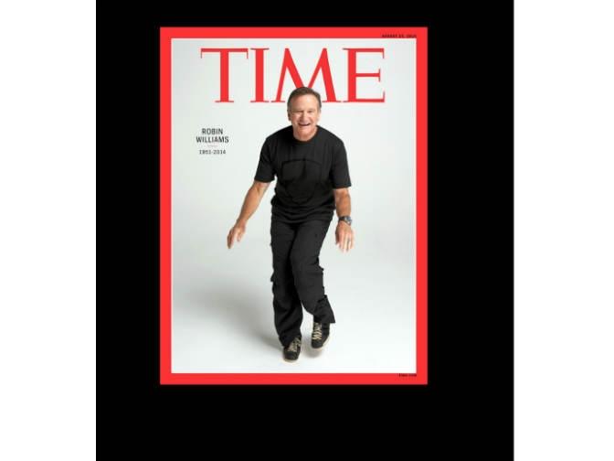 Revista TIME dedica número especial a Robin Williams