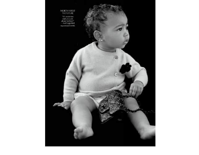 Hija de Kim Kardashian se estrena como modelo