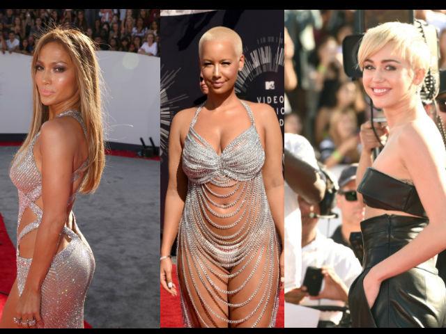 Así lucieron las estrellas en la Alfombra Roja de los MTV VMA
