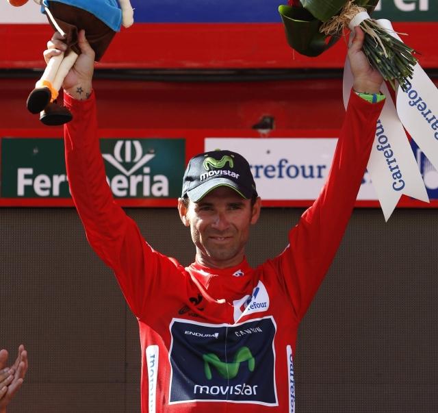 Valverde lidera Vuelta a España