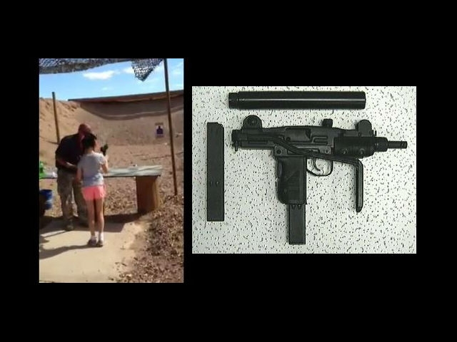 Niña de 9 años mata por accidente a instructor de tiro