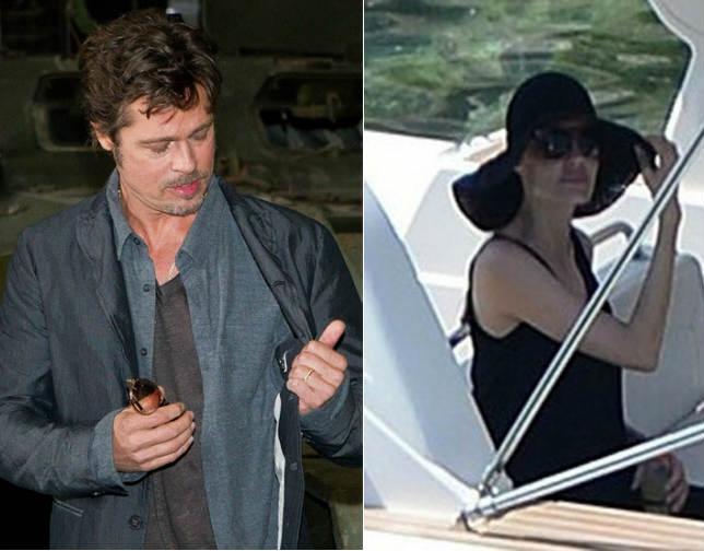 Angelina Jolie y Brad Pitt vuelven al trabajo tras su boda