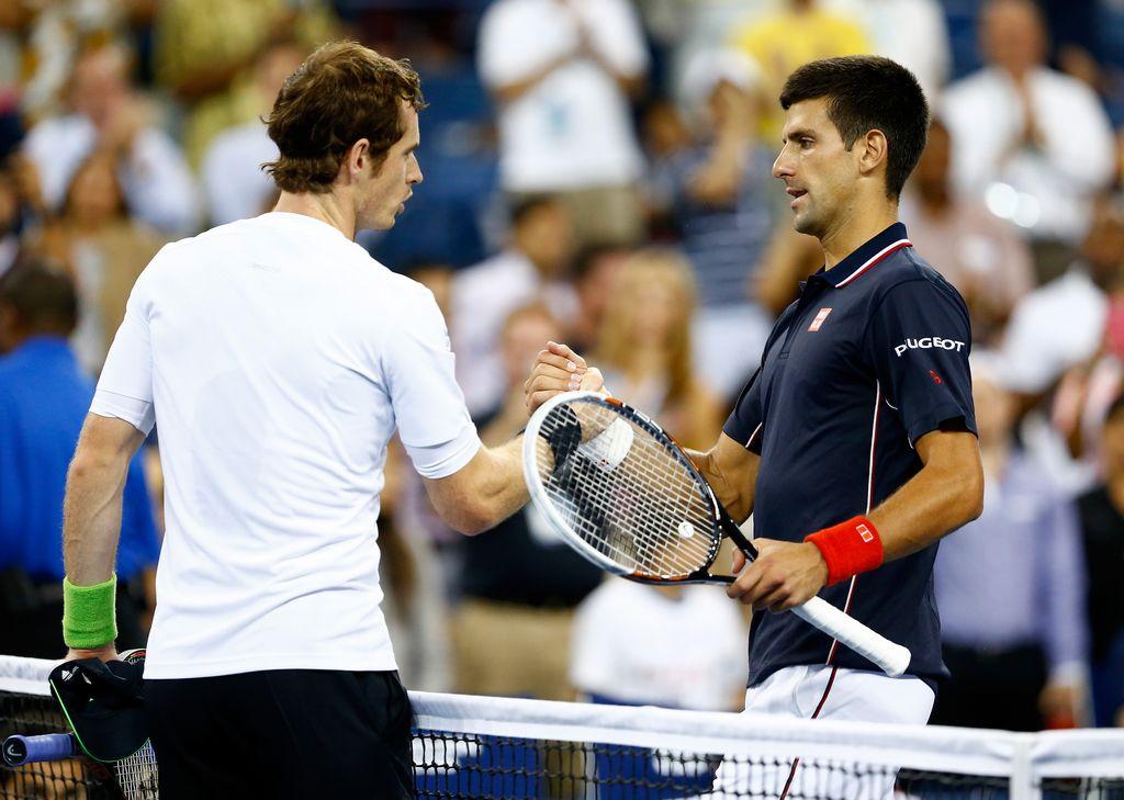 El encuentro entre Djokovic y Murray terminó pasada la 1 am en Nueva York.