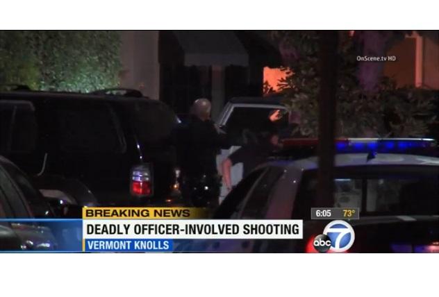 Fallece supuesto agresor doméstico durante enfrentamiento con LAPD