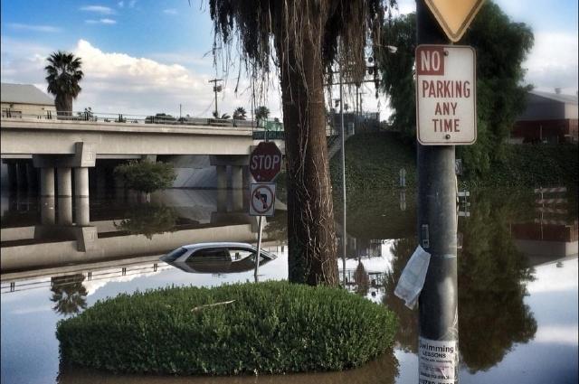 Inundaciones y rescates por la lluvia