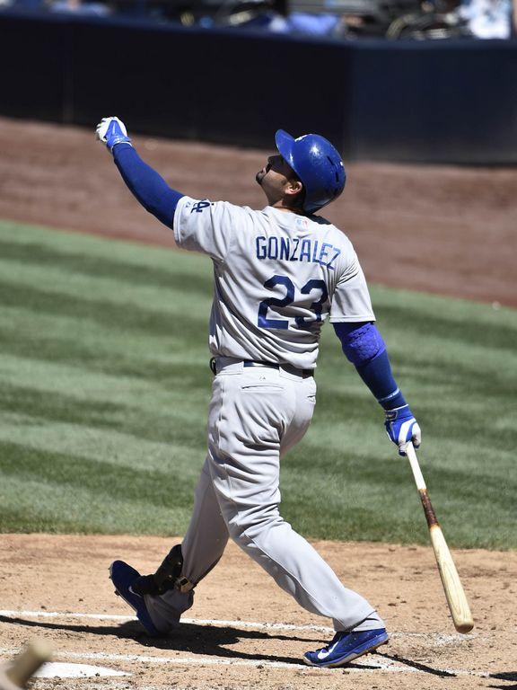 Adrian Gonzalez ha sido una pieza fundamental en la ofensiva de los Dodgers.