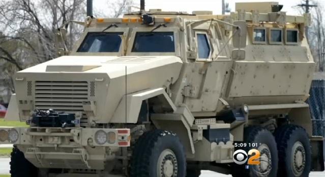 Los vehículos resistentes a minas están valorizados en $733,000.
