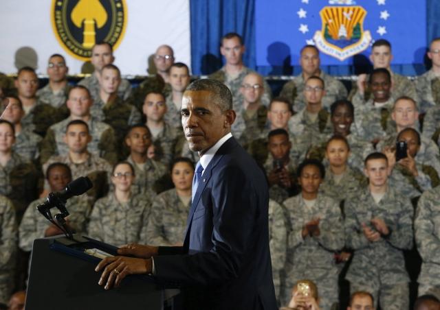 """EEUU no se  embarcará """"en otra guerra de tierra en Irak"""", dijo el Presidente Obama en la  base de MacDill,  en Florida."""