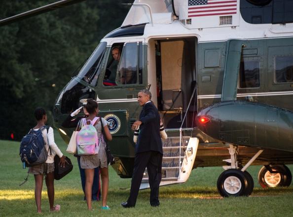 Evacúan parcialmente la Casa Blanca (fotos, video)