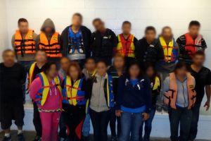 Tráfico humano: Por la ruta marítima (video)