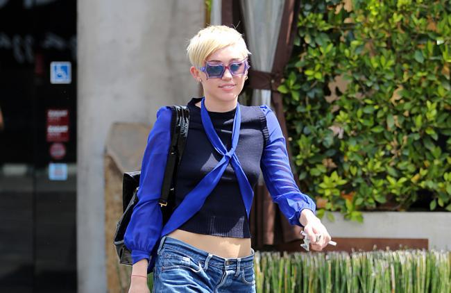 La pareja asaltó la vivienda mientras Miley se encontraba fuera de la ciudad.