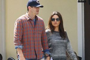 Mila Kunis y Ashton Kutcher son pura felicidad tras ser padres