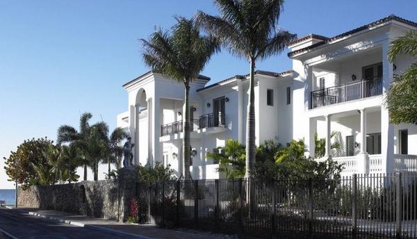 La mansión de Lebron James.