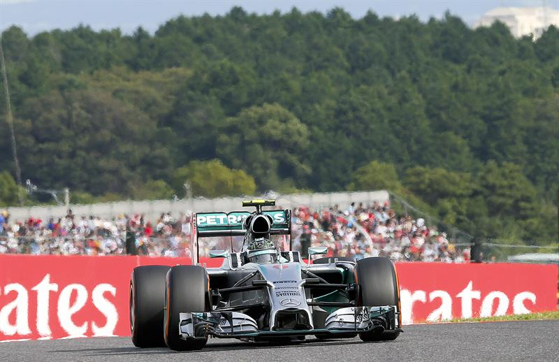 Nico Rosberg consiguió la duodécima pole de su carrera.