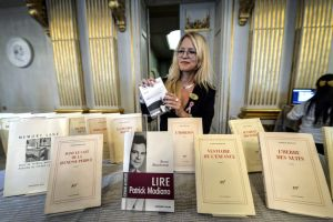 El escritor francés Patrick Modiano gana el Premio Nobel de Literatura 2014