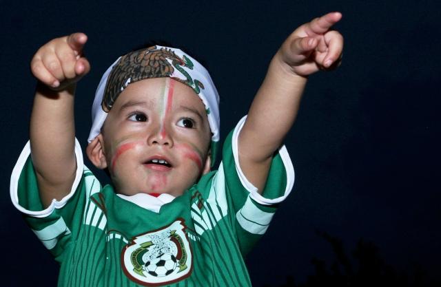 Foto previo al partido Amistoso, Mexico vs Honduras, en la foto: Fans09/10/2014/MEXSPORT/Noe Garcia Sanchez,Estadio: Victor Manuel Reyna o Estadio Zoque.