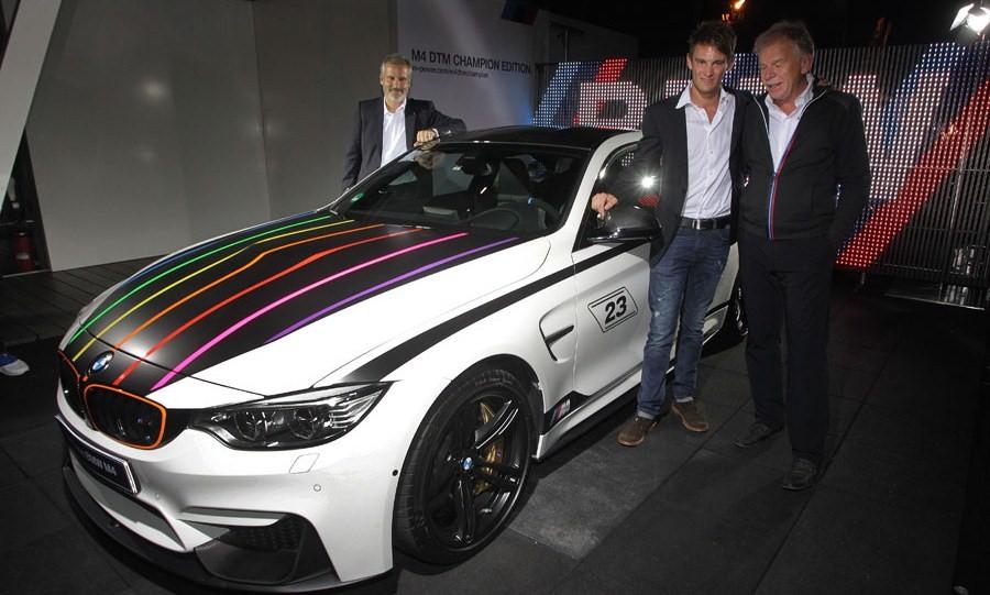BMW festeja con el M4 DTM Champion Edition