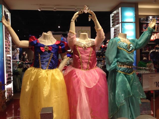 Halloween: Vístelas de princesas