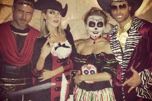 Sebastián Rulli y Angelique Boyer  se divirtieron en Halloween
