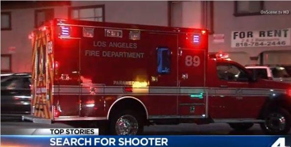 El incidente ocurrió cerca de las 3 de la mañana sobre la cuadra 13000 de la Calle Vanowen.