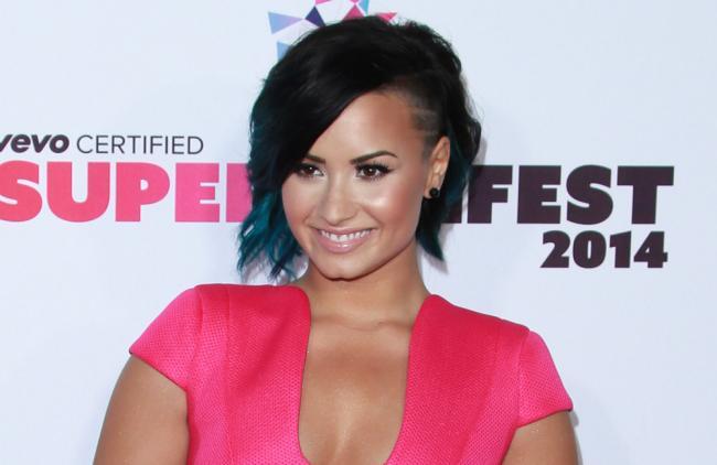 Demi Lovato quiere ser un ejemplo para sus fans