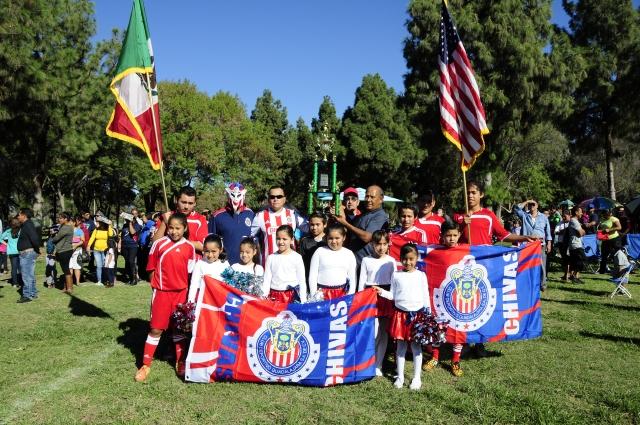 El Club Guadalajara ganó el primer lugar por ser el equipo más ordenado y el mejor uniformado.