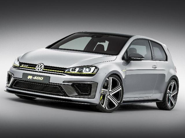 Volkswagen tiene listo el Golf R 400 para el auto show de Los Ángeles