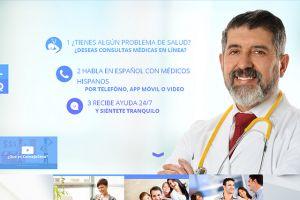 Una aplicación ofrece atencion médica en español las 24 horas