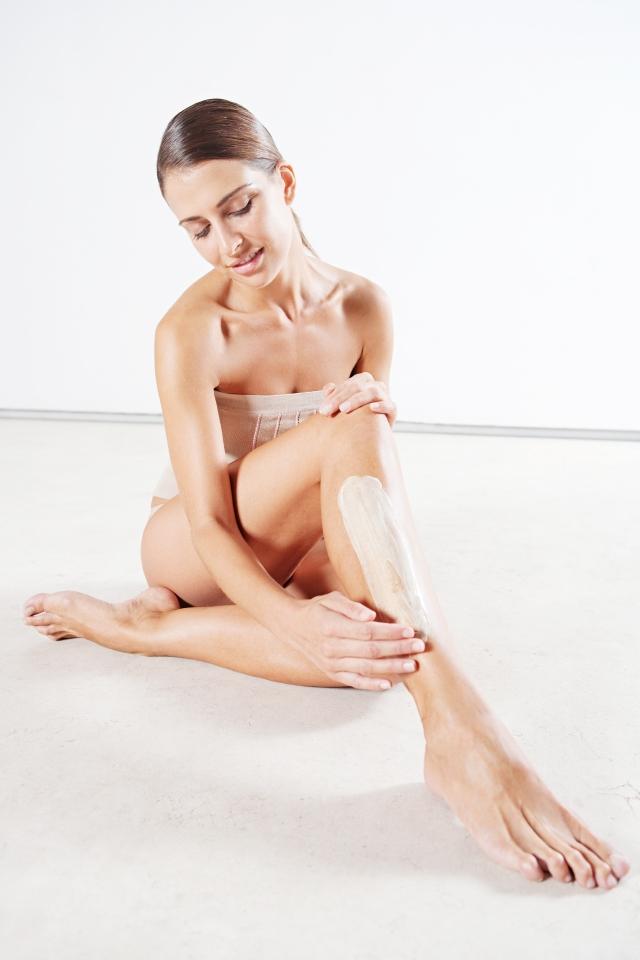 En  invierno hay que aplicar  crema hidratante en todo el cuerpo.