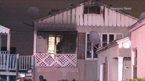 Incendio cobra vida de dos pequeños en San Bernardino