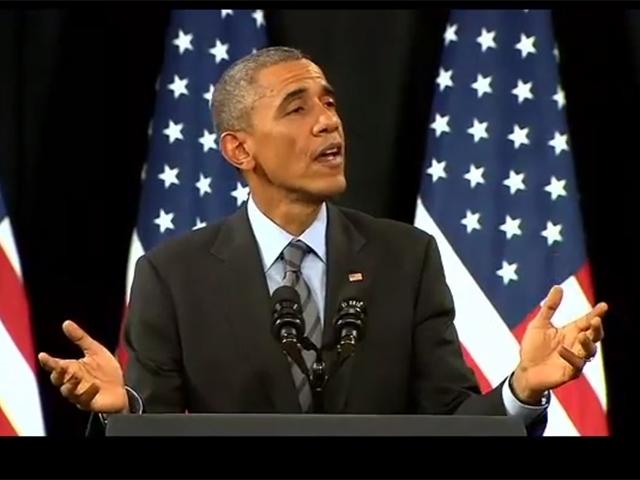 Video: Activista interrumpe a Obama durante su discurso de inmigración