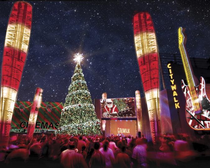 Se aproximan las fiestas navideñas, pero la celebración ya comienza en Hollywood.