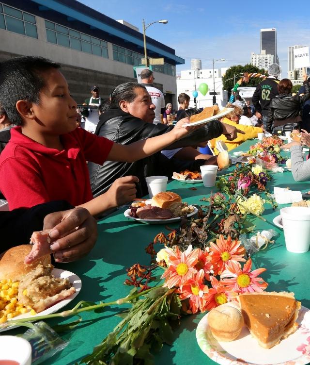 Cenas de Acción de Gracias gratuitas