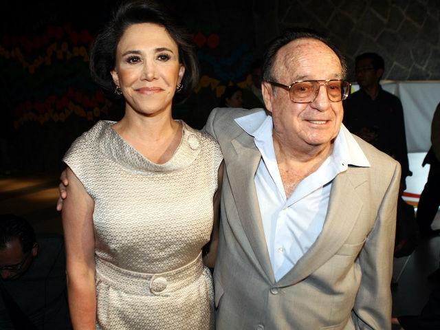 Florinda Meza y Chespirito estuvieron 40 años juntos.