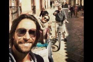 Mira que bien se la pasan Angelique y Sebastián en México
