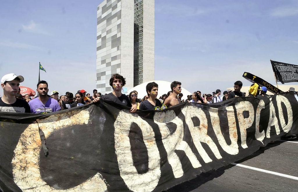 Brasil sacudido por la corrupción