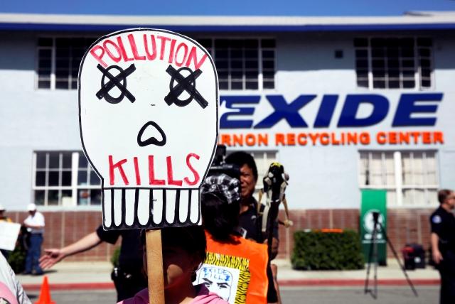 La planta de Exide suspendió sus operaciones en marzo luego de que no pudiera cumplir estándares de anticontaminación impuestos por South Coast Air Quality Management District.