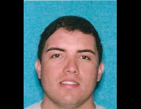 Gabriel Acuña, de 24 años, fue herido de bala por agentes de policía.