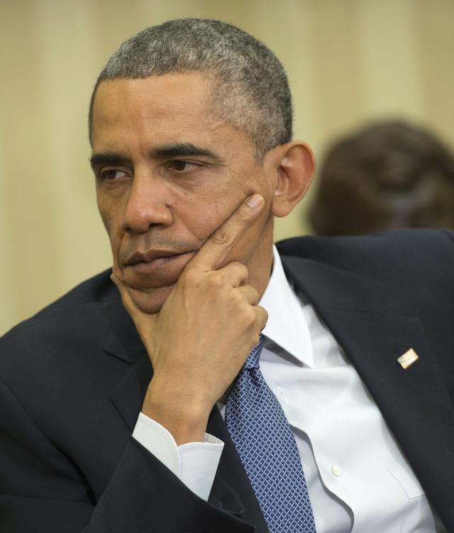 Obama al hospital por padecer de reflujo gástrico