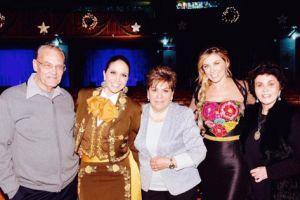 Lucero y Aracely Arámbula cantan a la Virgen de Guadalupe