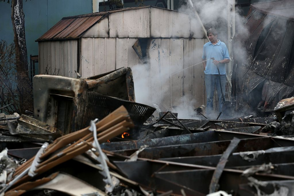 En agosto, un sismo que pegó en Napa Valley, California, dejó más de 200 heridos y $1,000 millones de daños.