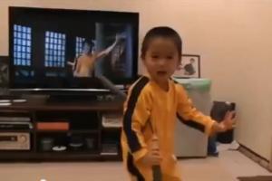 ¡Le salió un joven sucesor a Bruce Lee!