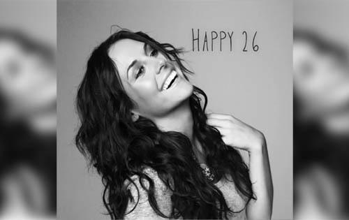 Zuria Vega presume de una vida perfecta en su cumpleaños