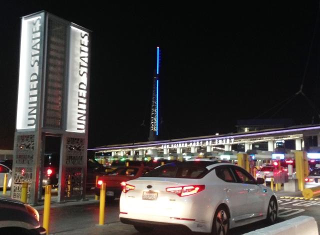 La frontera de Tijuana-San Ysidro es considerada la más transitada del mundo con mas de 32 mil vehículos cruzando diariamente.