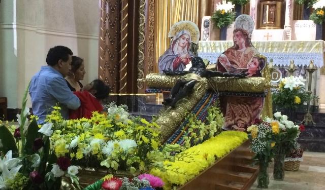 Guatemaltecos festejan a su santo patrono