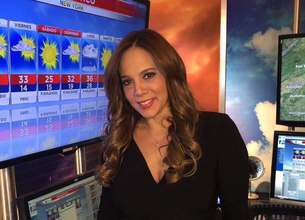 Nilda Rosario, presentadora del clima en Univision 41.